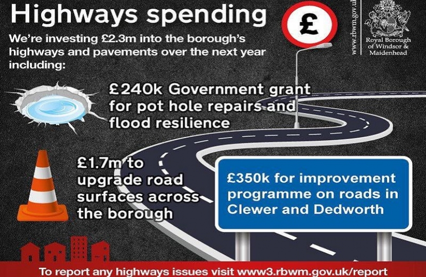 Investing in our roads
